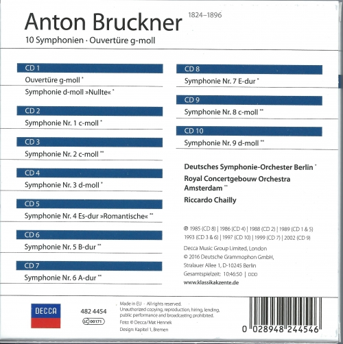 Concertgebouworkest Royal Concertgebouw Orchestra - Bedřich Smetana Smetana Má Vlast - Including The Moldau