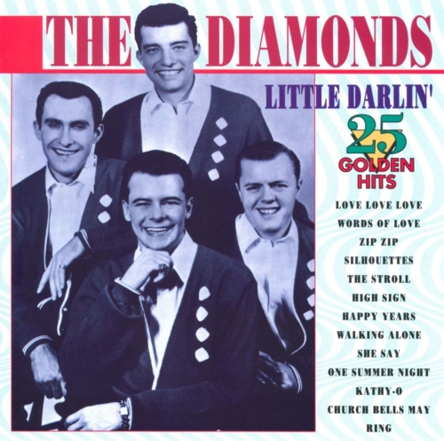 The Diamonds – Little Darlin´ 25 Golden Hits (1993)