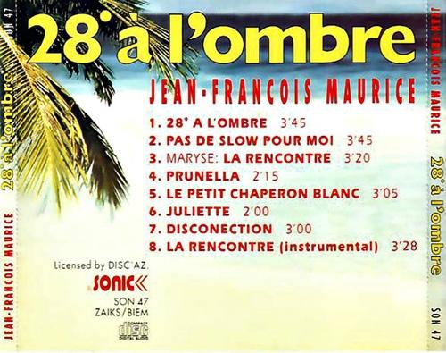 Lyrics la rencontre instrumental jean francois maurice