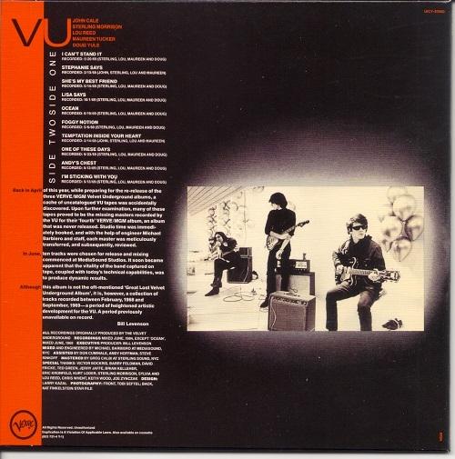 The Velvet Underground Vu Japan Shm Cd 1968 69 2009