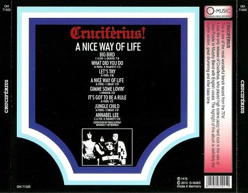 Cruciférius – A Nice Way Of Life (Reissue) (1969-70/2012)