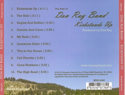 Don Ray Band - The Best of Don Ray Band - Kickstands Up (2013)