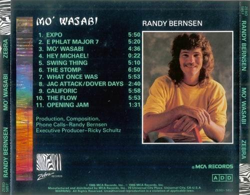 Randy Bernsen Mo Wasabi 1986