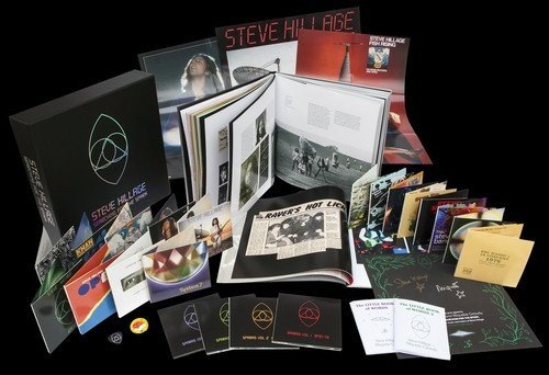 Steve Hillage - Searching for the Spark (22CD Super Deluxe Box Set) (2016)