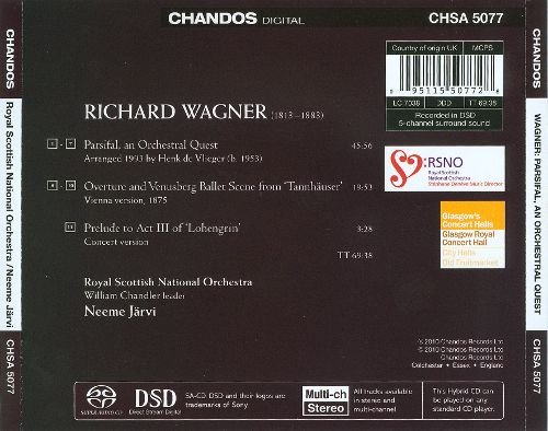 Wagner: Parsifal, An Orchestral Quest (2010