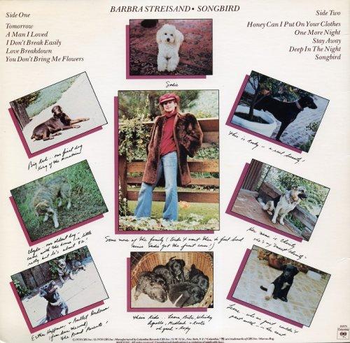 Barbra Streisand Songbird 1978 Vinyl
