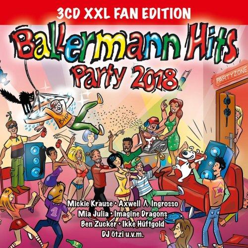 Ballermann Hits Party 2018 (XXL Fan Edition) (2017