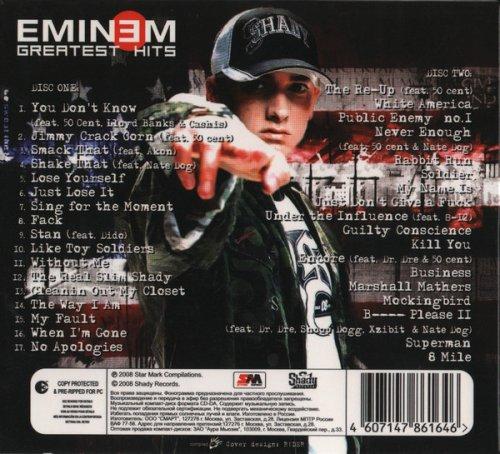 Eminem Venom 320kbps Mp3: Greatest Hits (2008) MP3 320 Kbps Full Album