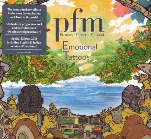 Premiata Forneria Marconi – Emotional Tattoos [2CD] (2017) CD-Rip