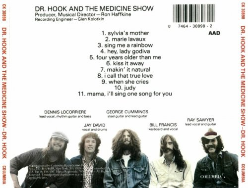 Doctor Hook - Dr Hook and the Medicine Show (1971) [1992]  Lossless