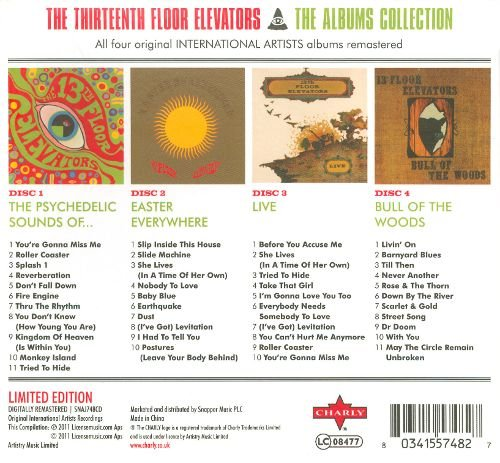 The 13th Floor Elevators The Albums Collection Limited