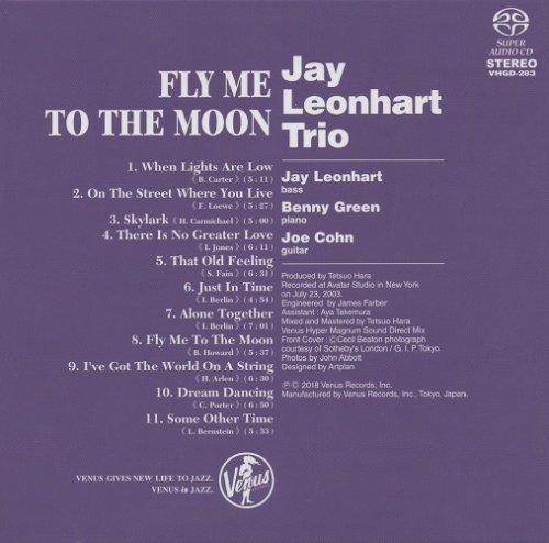 Jay Leonhart Trio Fly Me To The Moon 2003 2018 Sacd