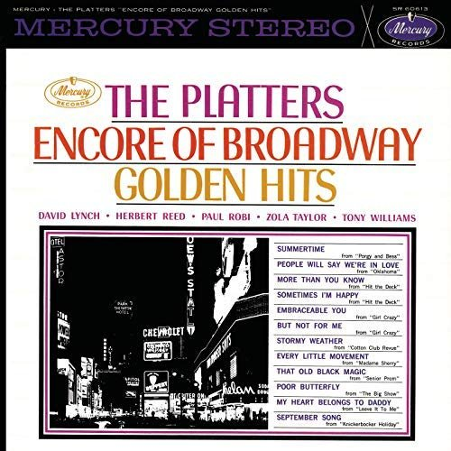 The Platters – Encore Of Broadway Golden Hits (1962/2018)