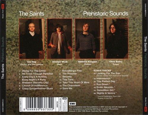 The Saints Prehistoric Sounds Reissue 1978 2007 Full