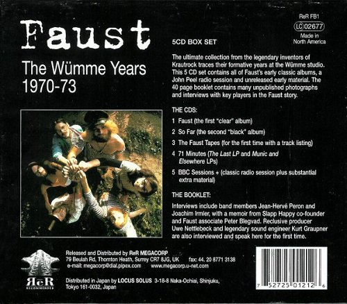 The Wümme Years: 1970-73 (Reissue) (2000