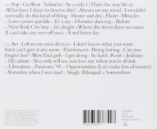 Pet Shop Boys - The Hits (Pop Art)