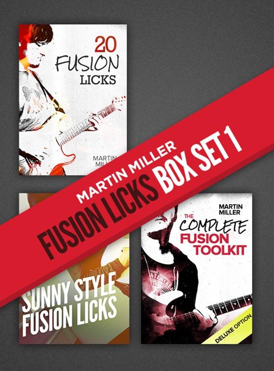 JTC - Martin Miller - Fusion Style Box Set