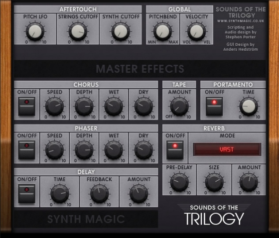 Synth Magic Sounds of the Trilogy KONTAKT