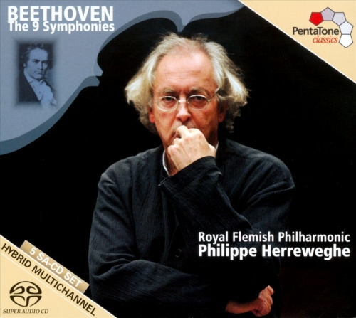 Philippe Herreweghe/Royal Flemish Philharmonic – Beethoven: The 9 Symphonies [5CD] (2011) (LOSSLESS)