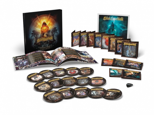 Blind Guardian - A Traveler's Guide To Space And Time [15 CD Box Set] (2013)