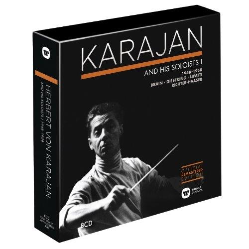 Herbert von Karajan - Karajan and His Soloists, Vol. 1 [8CD Box Set] (1948-1958) (2014)