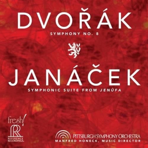 Manfred Honeck / Pittsburgh Symphony Orchestra – Dvorák: Symphony No. 8; Janácek: Symphonic Suite from Jenufa (2014) {HD Tracks}