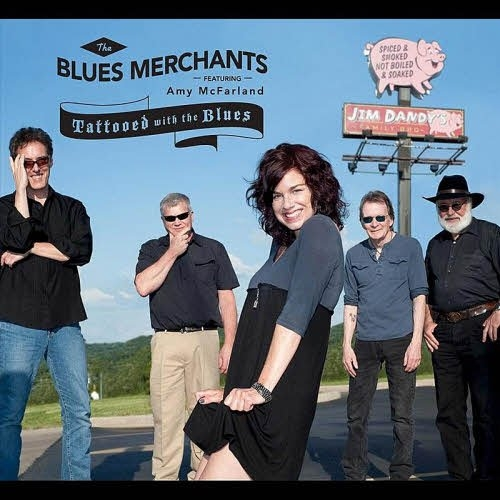 The Blues Merchants – Tattooed With the Blues (feat. Amy McFarland) (2012)