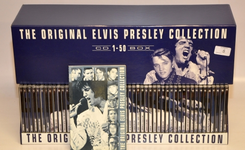 Elvis Presley - The Original Elvis Presley Collection [50 CD Box Set] (1995) (LOSSLESS/ALAC)