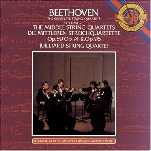 Juilliard String Quartet - Beethoven: Complete String Quartets [Vol.1-3, 9 CDs] (1983)