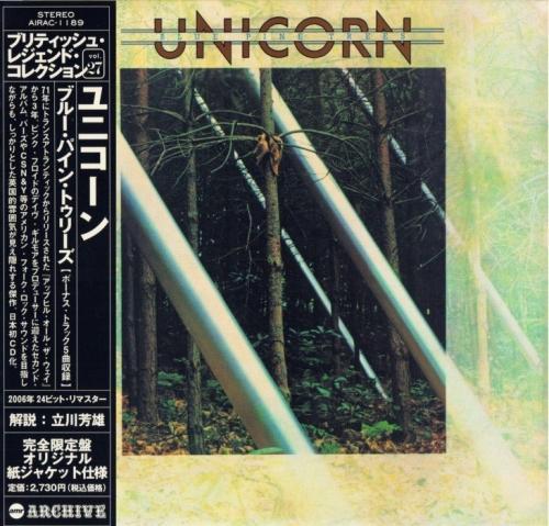 Unicorn - Blue Pine Trees (1974)[Japan remaster](2006) Lossless