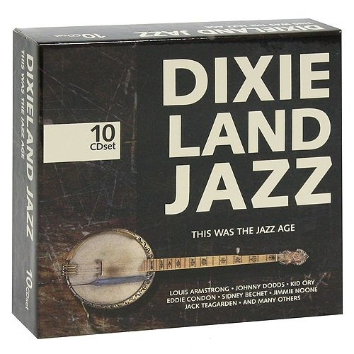 VA - Dixieland Jazz. This Was the Jazz Age (10 CD) (2005)