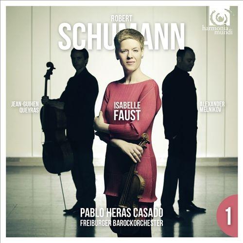 Isabelle Faust - Robert Schumann: Violin Concerto & Piano Trio No. 3 (2015) {HD Tracks}