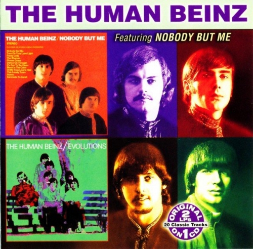 The Human Beinz - Nobody But Me / Evolutions (1968) (2006) Lossless