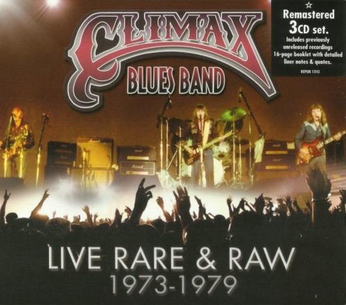 Climax Blues Band - Live Rare & Raw [1973-79] [Remastered] (2014) 3CD Lossless