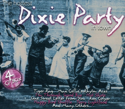 VA - The Hottest Dixie Party in Town [4 CD] (2003)