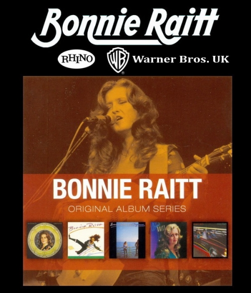 Bonnie Raitt - Original Album Series (5CD Box Set) (2011) lossless