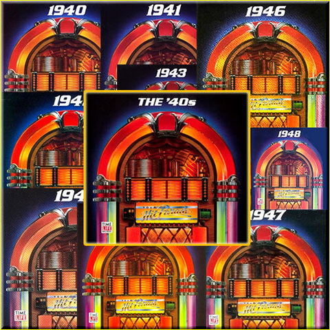 VA - Time Life Music: Your 40s Hit Parade (10CD) (1991)