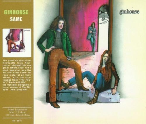 Ginhouse - Ginhouse [1971] [Mini LP Ltd Edition] (2012) Lossless