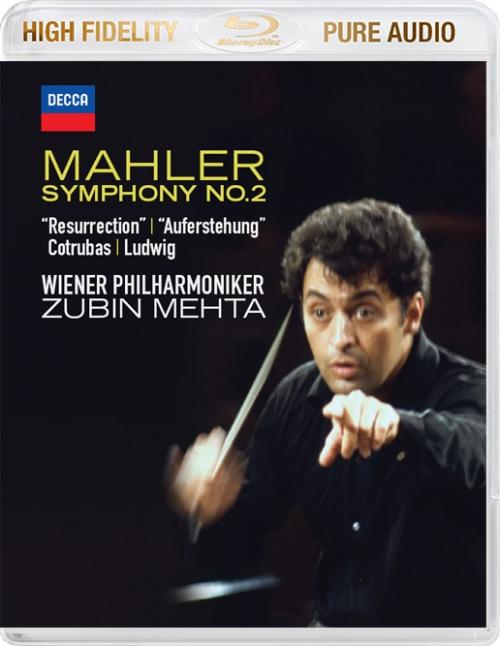 Zubin Mehta - Mahler: Symphony No.2 (2014) {Blu-Ray Audio}