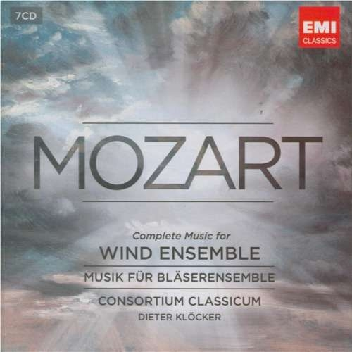 Consortium Classicum / Dieter Klöcker - Mozart: Complete Music For Wind Ensemble [7 CD Box Set] (2012)