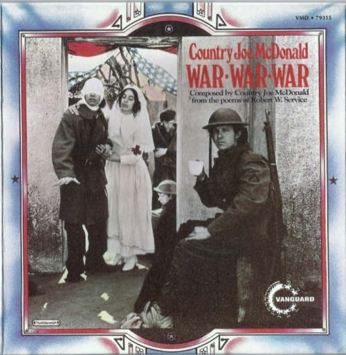 Country Joe McDonald - War War War [1971] (2001)Lossless