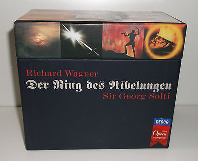 Sir Georg Solti - Richard Wagner. Der Ring Des Nibelungen [14 CD Box Set] (1997) (LOSSLESS & MP3)