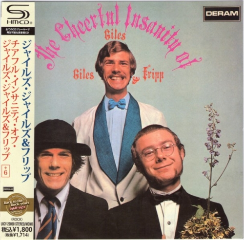 Giles, Giles & Fripp - The Cheerful Insanity [1968] (Japan SHM Remaster)[2010] Lossless