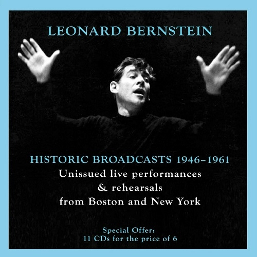 Leonard Bernstein - Historic Broadcasts 1946-1961 [11 CD Box Set] (2013)