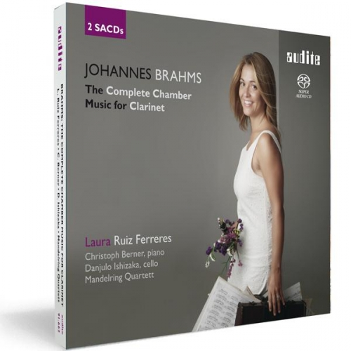 Laura Ruiz Ferreres - Johannes Brahms: The Complete Chamber Music for Clarinet (2013) (MP3 320 kbps)