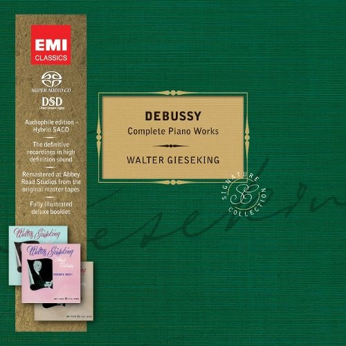 Walter Gieseking - Debussy: The Complete Piano Works (2012) {4 SACD}
