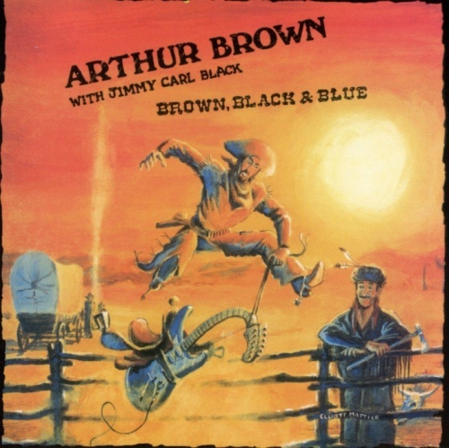 Arthur Brown with Jimmy Carl Black - Brown, Black & Blue (1988)(2009)Lossless