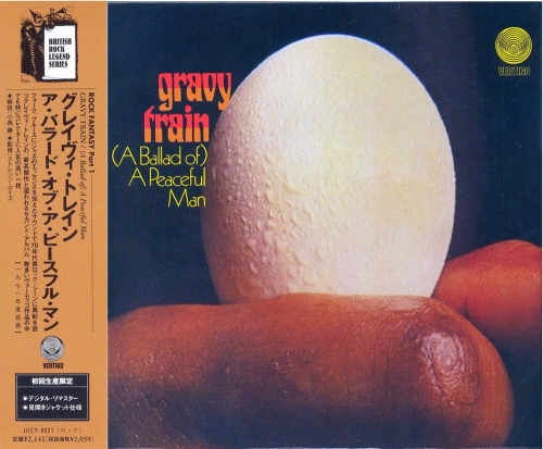 Gravy Train - The Ballad Of A Peaceful Man (1971) [Japan remaster-2001]Lossless