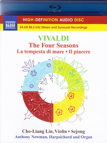 Cho-Liang Lin, Anthony Newman - Vivaldi - The Four Seasons: La Tempesta Di Mare II Piacere (2011) {Blu-Ray Audio}