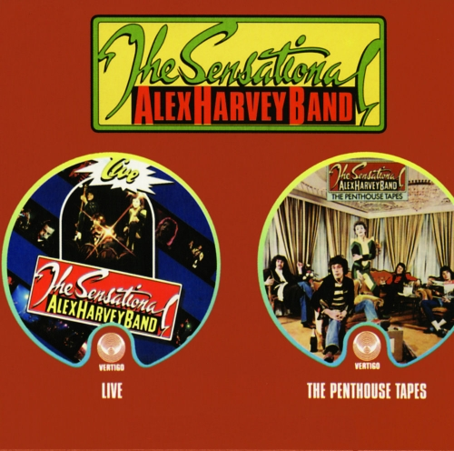 The Sensational Alex Harvey Band - Live/The Penthouse Tapes [1975/76]Remastered(2002)Lossless